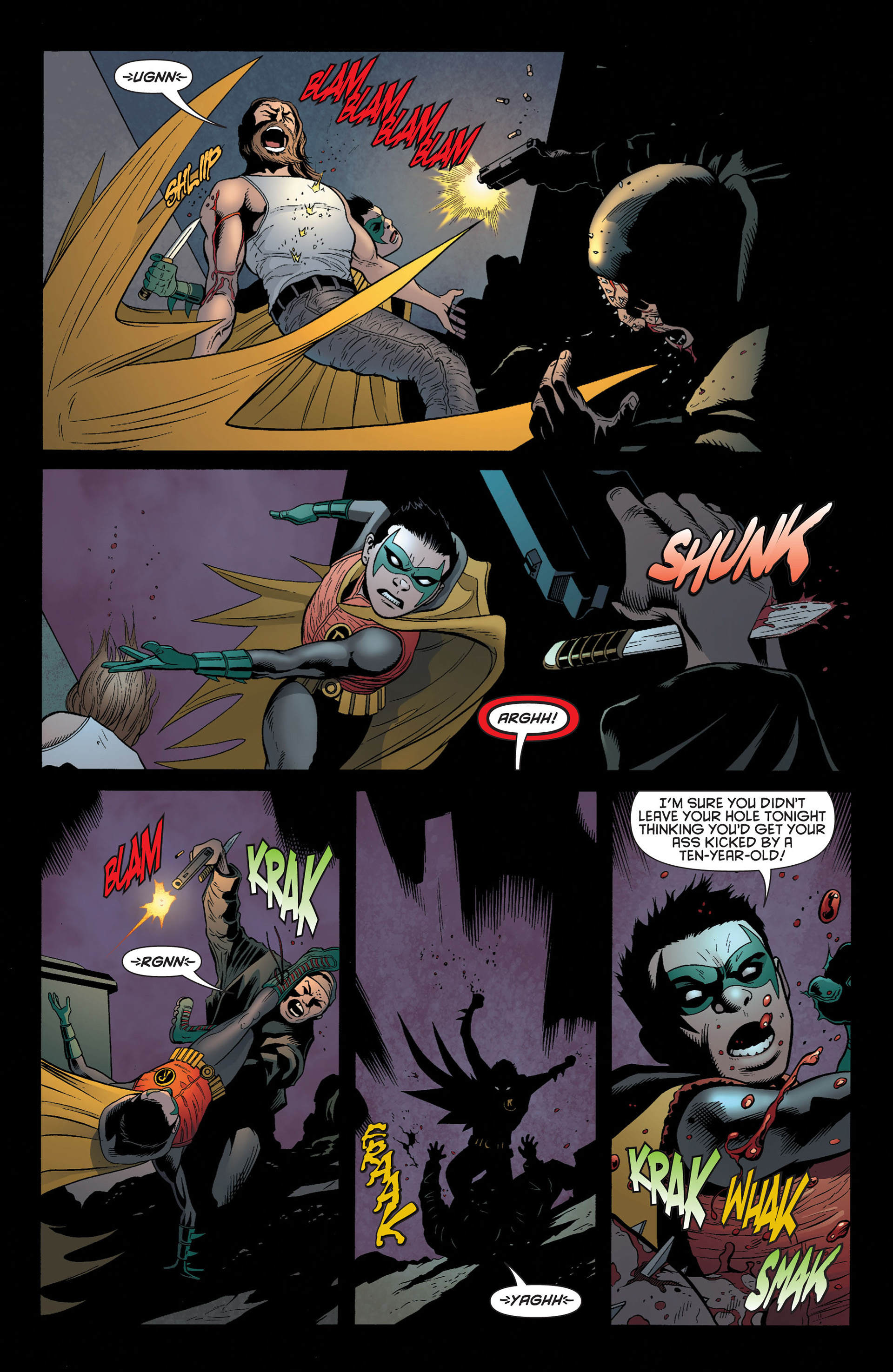 Read online Batman and Robin (2011) comic -  Issue #3 - 11
