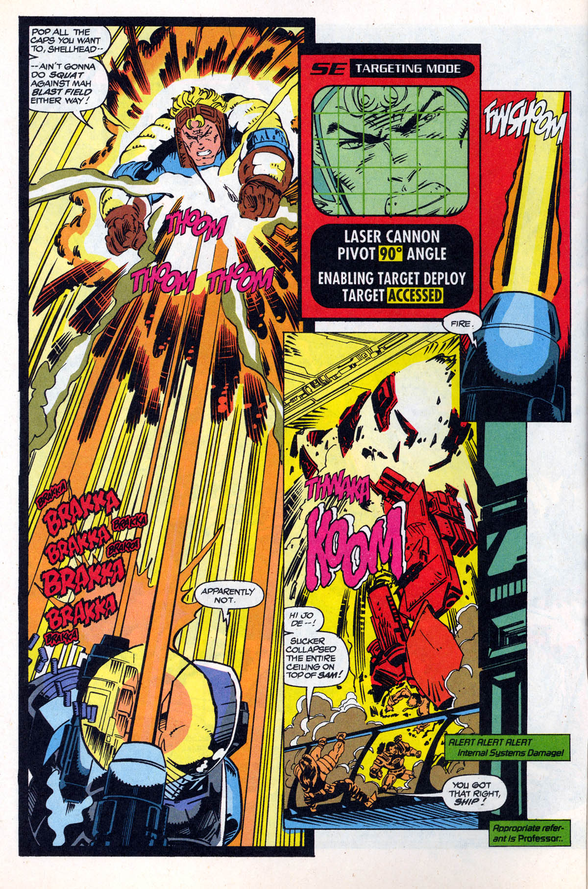Read online X-Force (1991) comic -  Issue #21 - 5