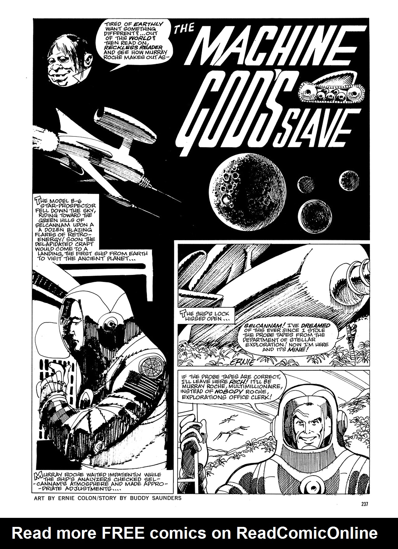 Read online Eerie Archives comic -  Issue # TPB 5 - 238