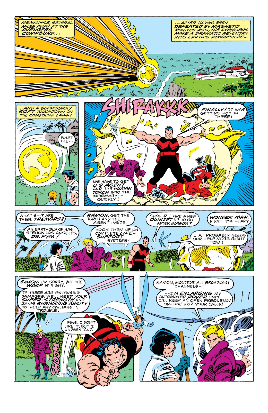 Avengers West Coast (1989) issue 58 - Page 6
