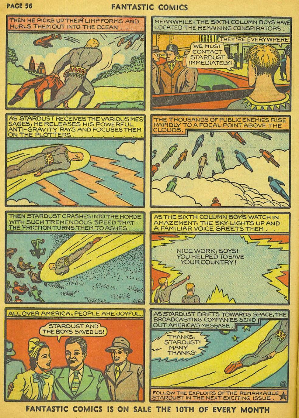 Read online Fantastic Comics comic -  Issue #15 - 51