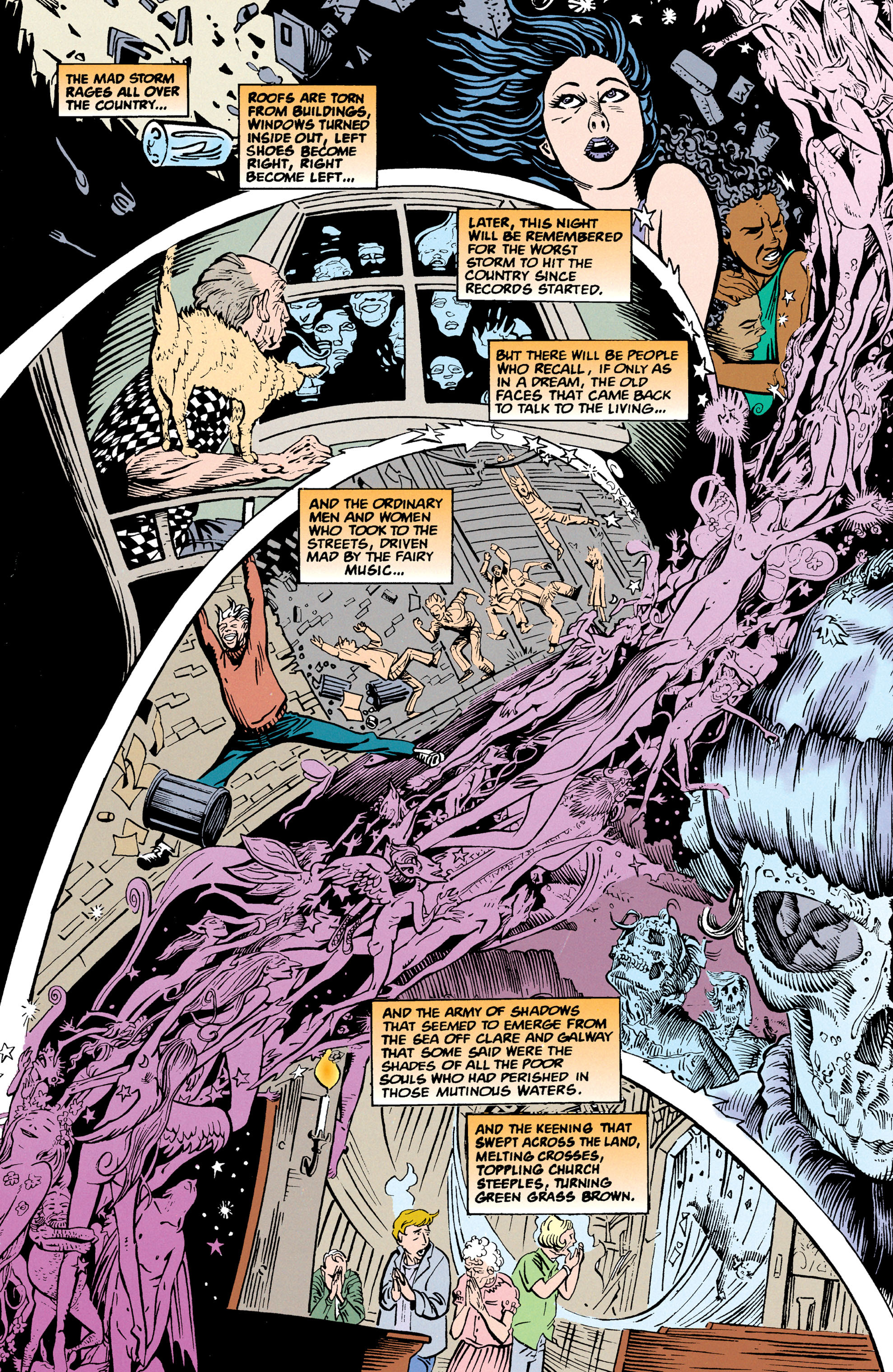 Read online Shade, the Changing Man comic -  Issue #67 - 17