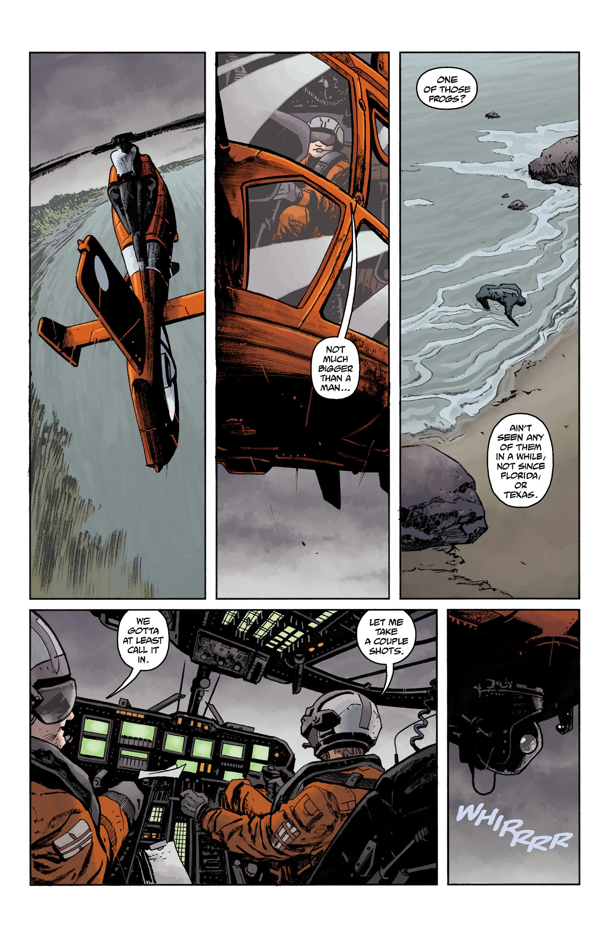 Read online Abe Sapien comic -  Issue #36 - 5