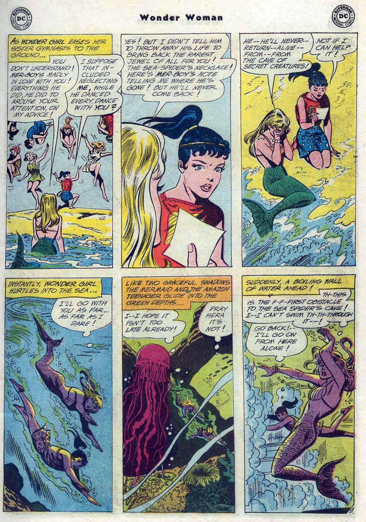 Read online Wonder Woman (1942) comic -  Issue #116 - 11