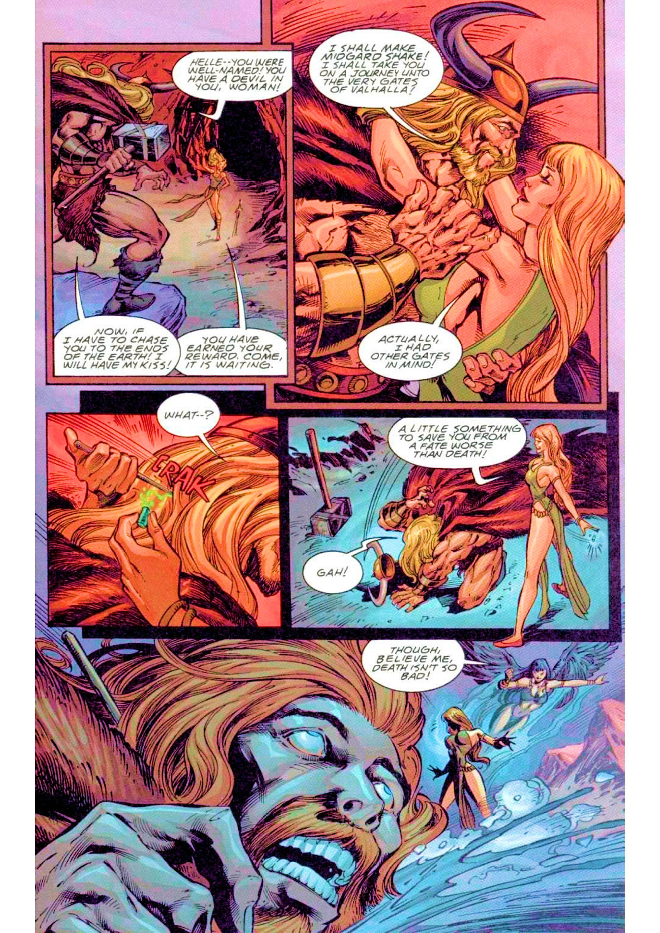 Read online Xena: Warrior Princess (1999) comic -  Issue #3 - 17