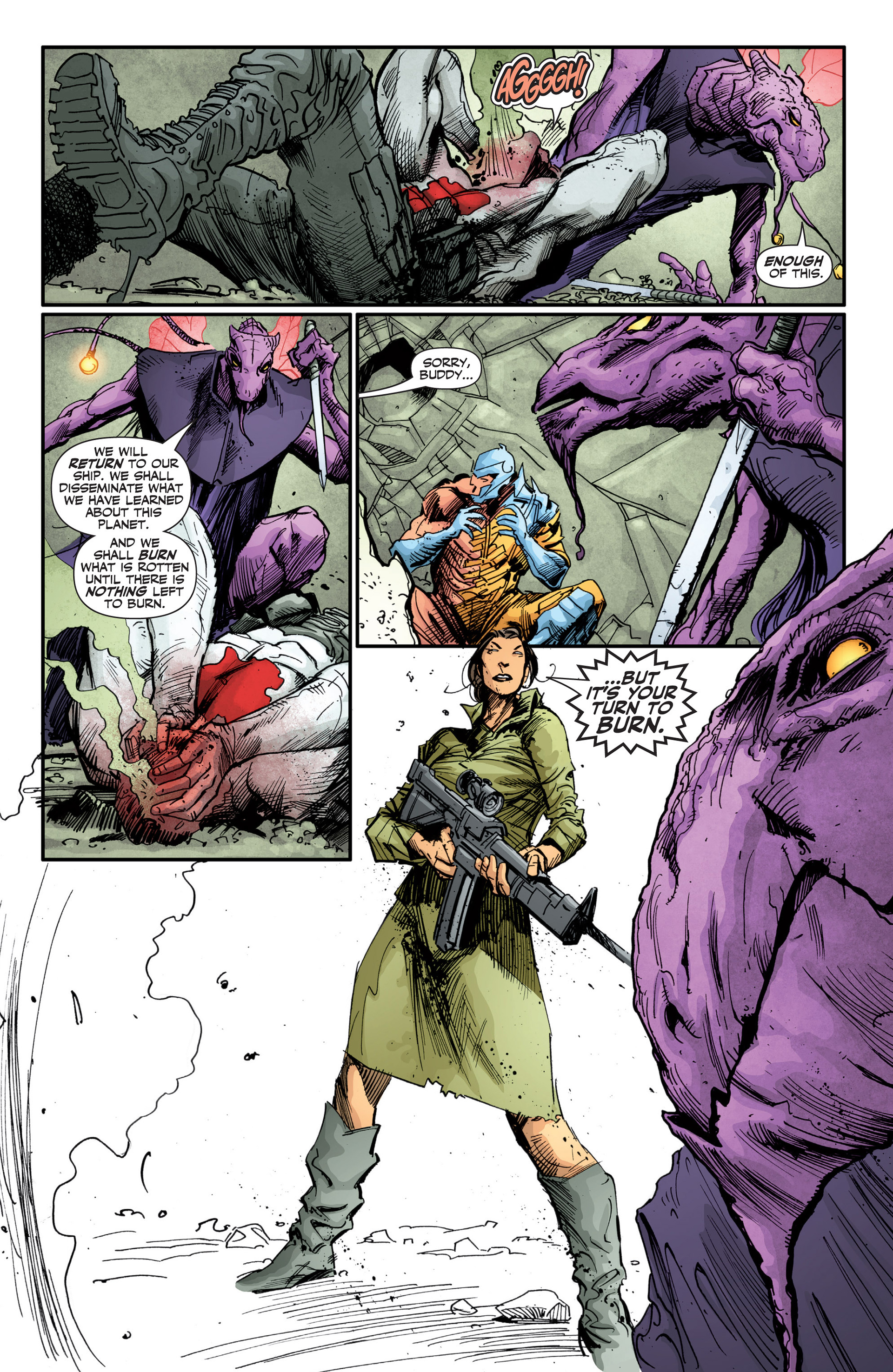 Read online Armor Hunters: Bloodshot comic -  Issue #2 - 12