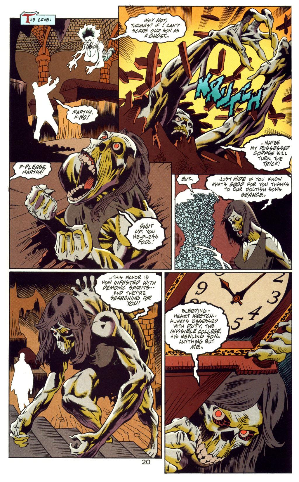 Read online Batman: Haunted Gotham comic -  Issue #4 - 20