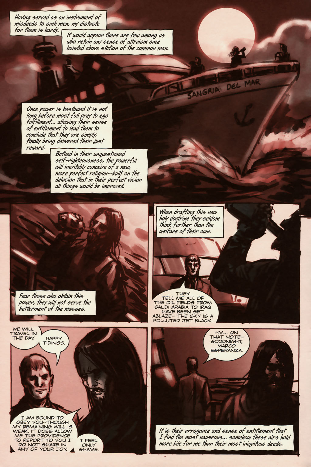 Read online Sea of Red comic -  Issue #13 - 3