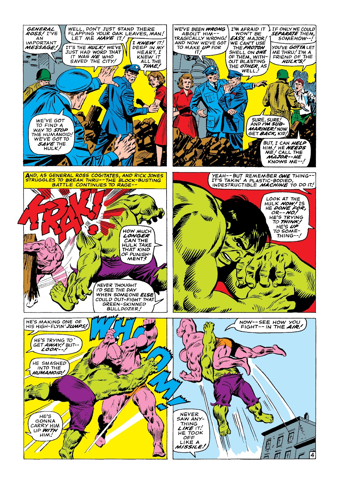 Read online Marvel Masterworks: The Incredible Hulk comic -  Issue # TPB 3 (Part 1) - 88
