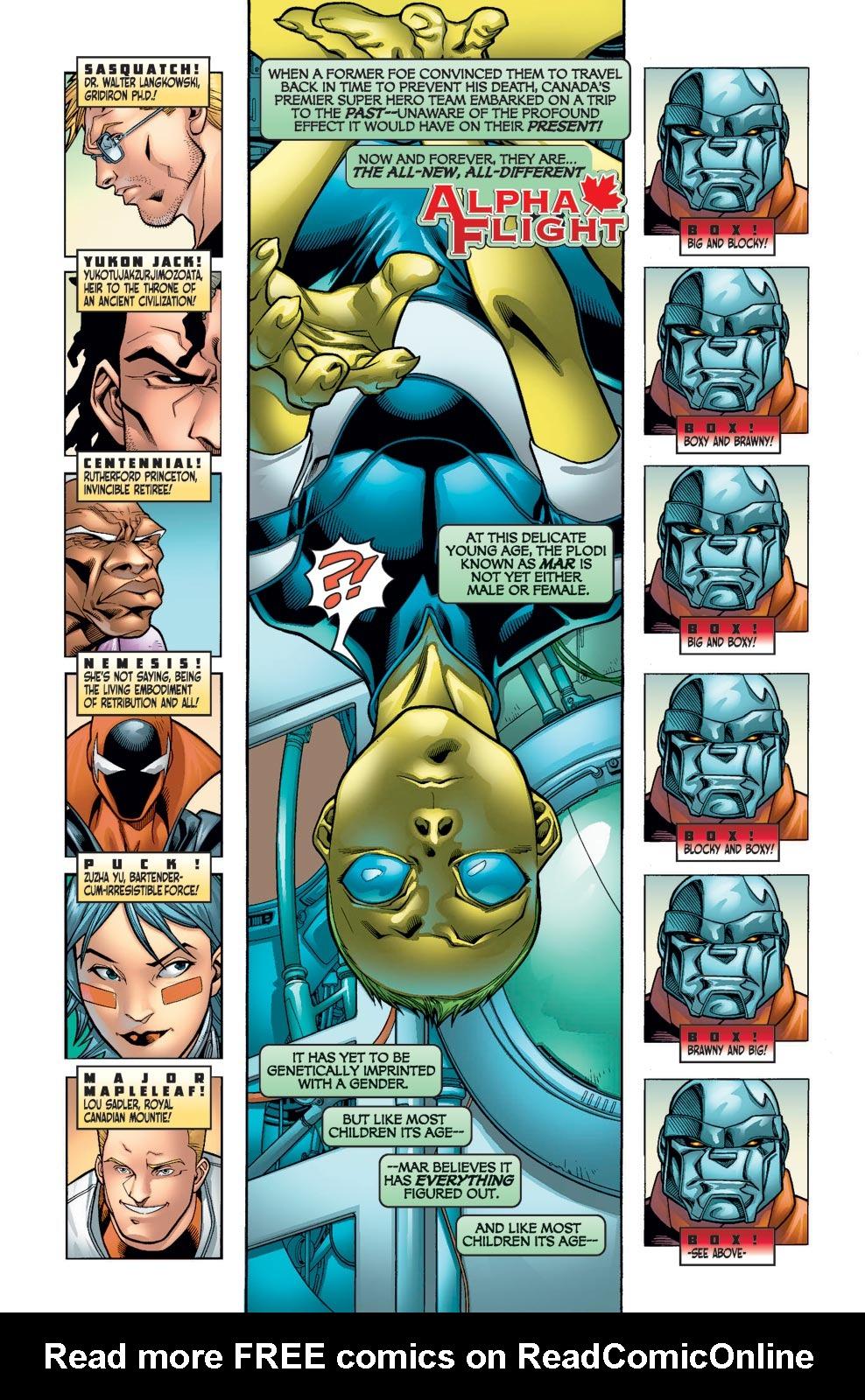 Read online Alpha Flight (2004) comic -  Issue #10 - 3