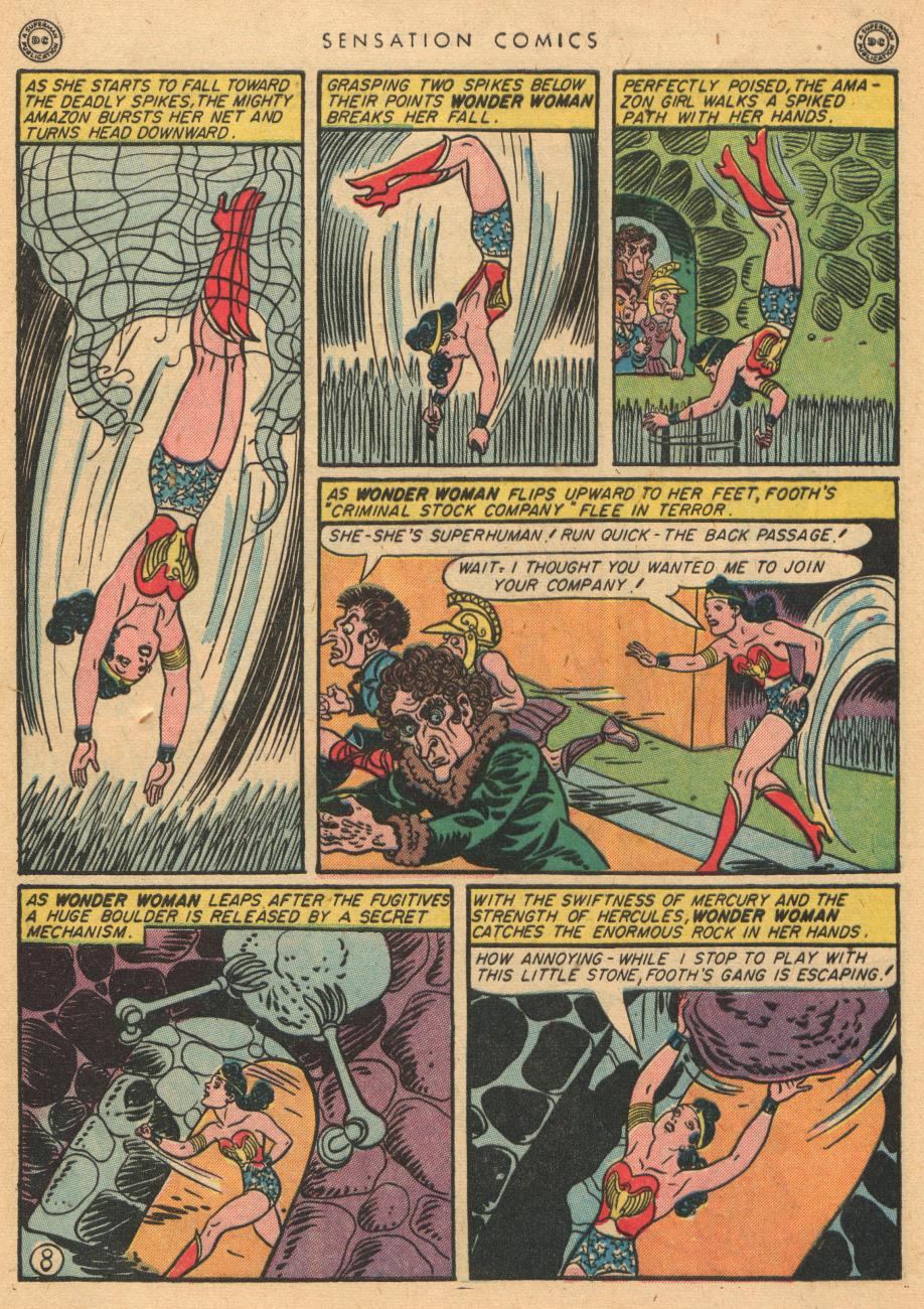 Read online Sensation (Mystery) Comics comic -  Issue #36 - 10