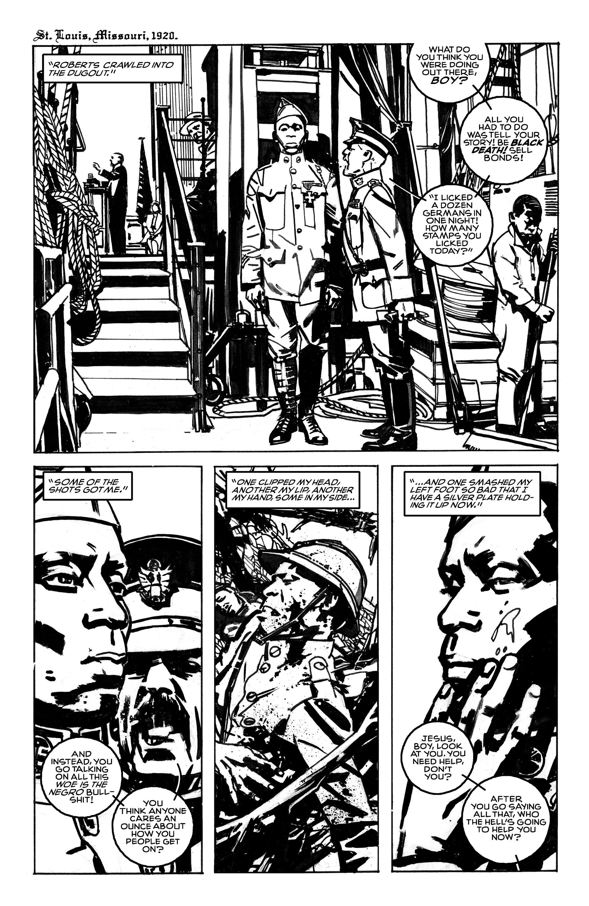 Read online Black Death in America comic -  Issue # Full - 4
