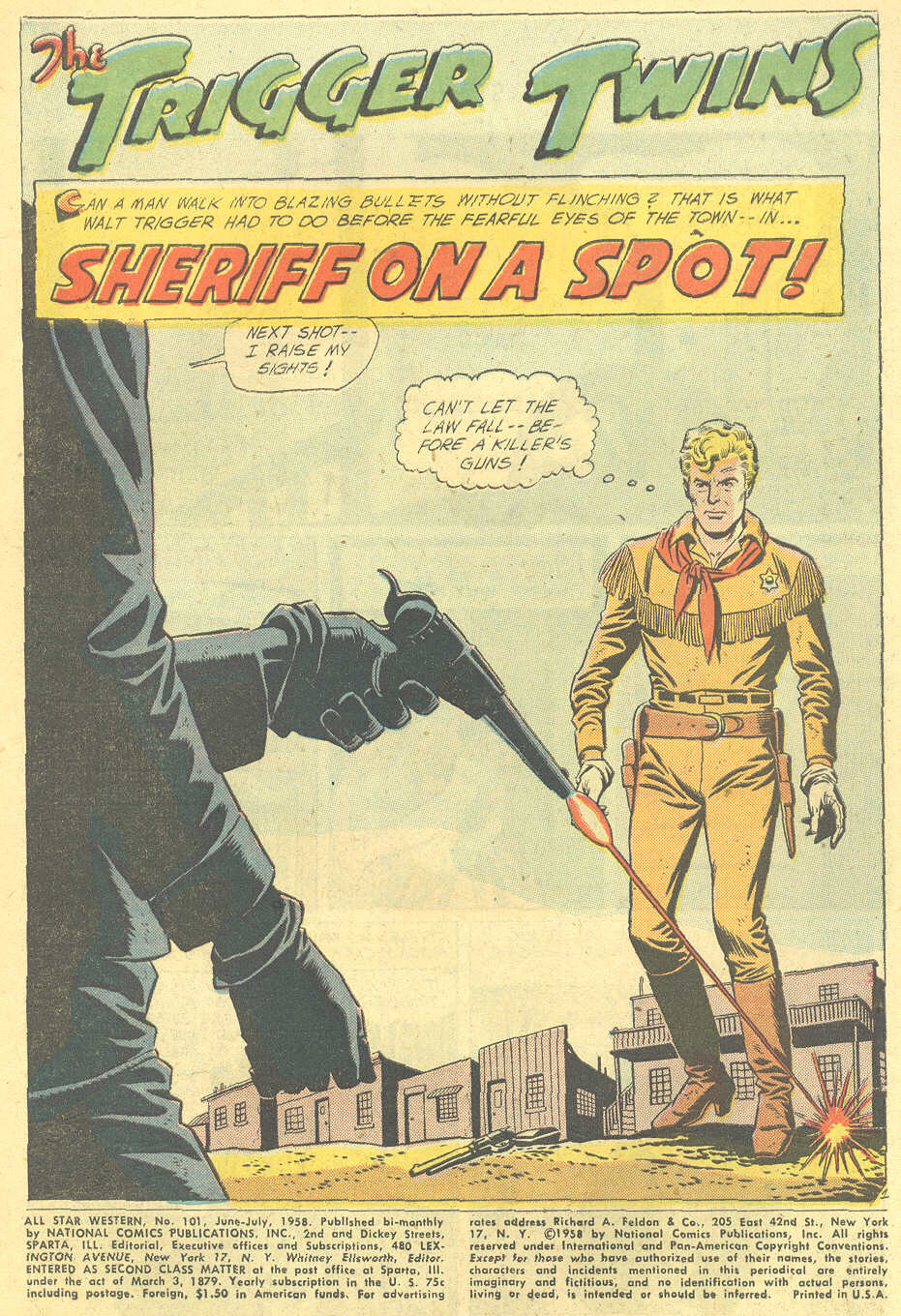 Read online All-Star Western (1951) comic -  Issue #101 - 3