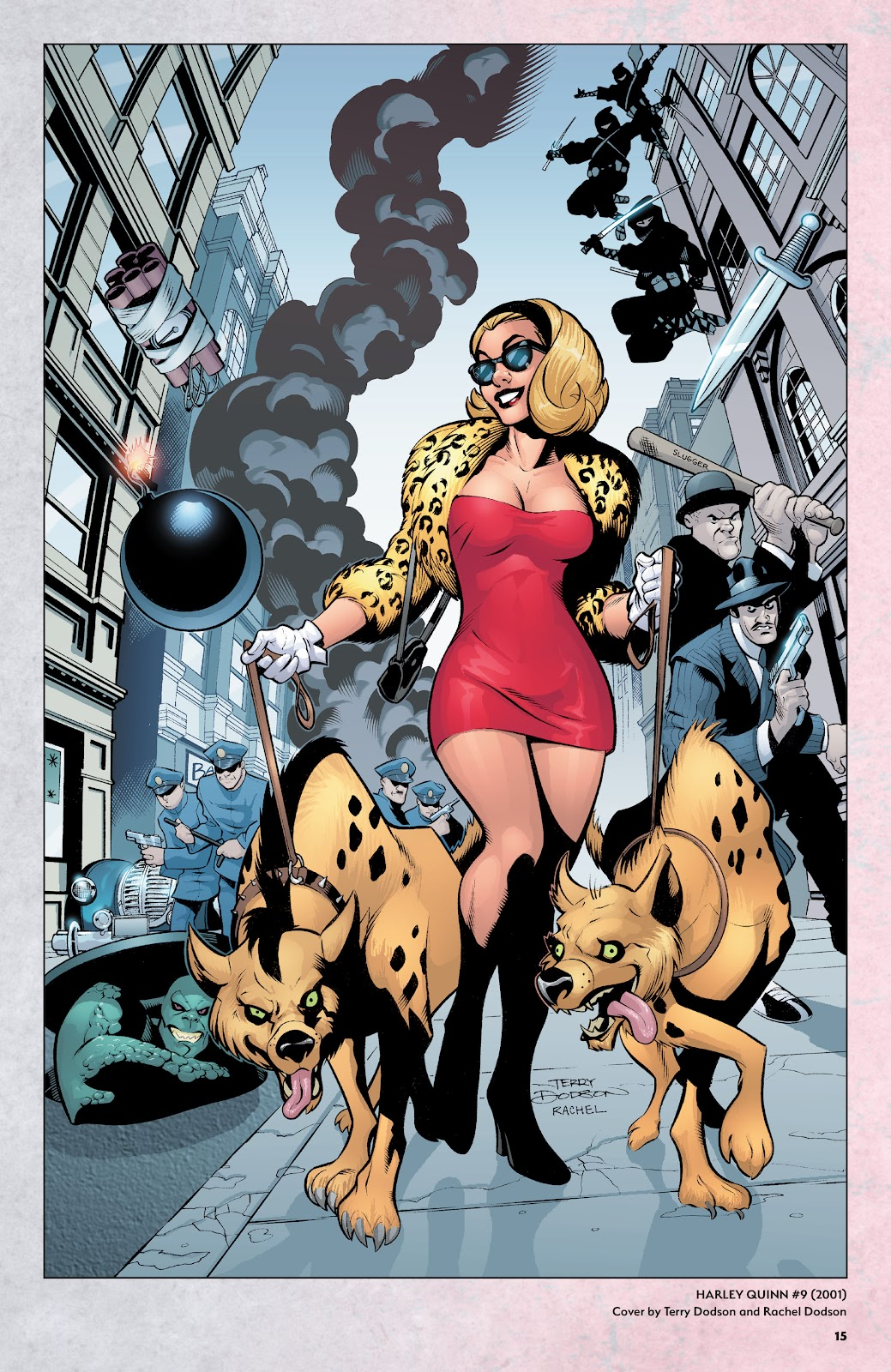 Read online Harley Quinn: A Rogue's Gallery―The Deluxe Cover Art Collection comic -  Issue # TPB (Part 1) - 14