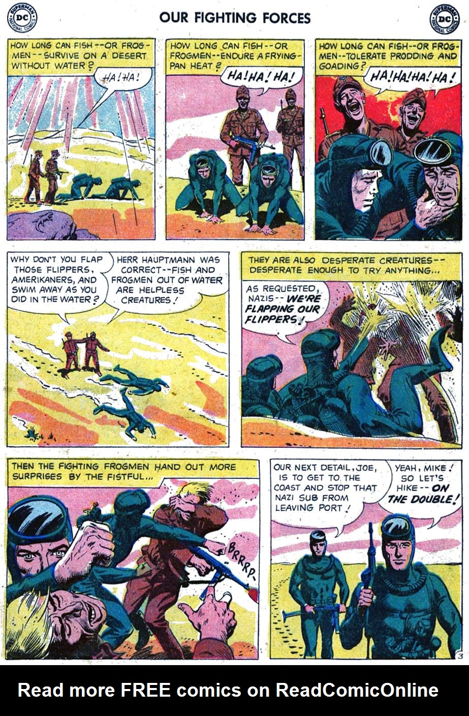 Our Fighting Forces (1954) issue 46 - Page 21
