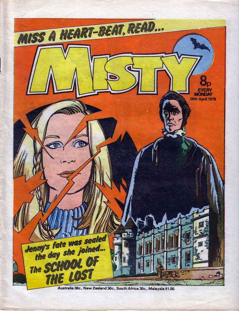 Misty (1978) 13 Page 1