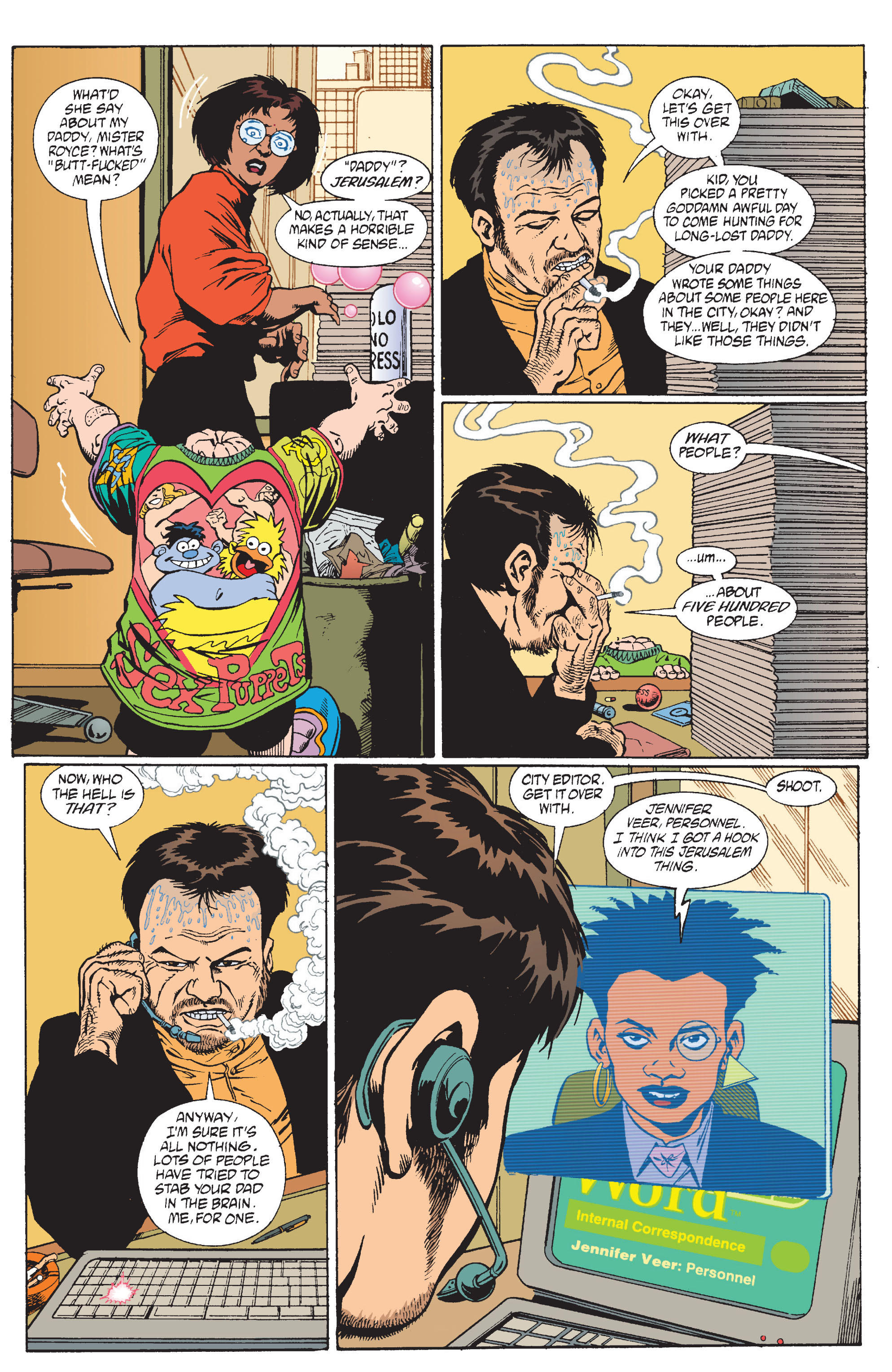 Read online Transmetropolitan comic -  Issue #11 - 16
