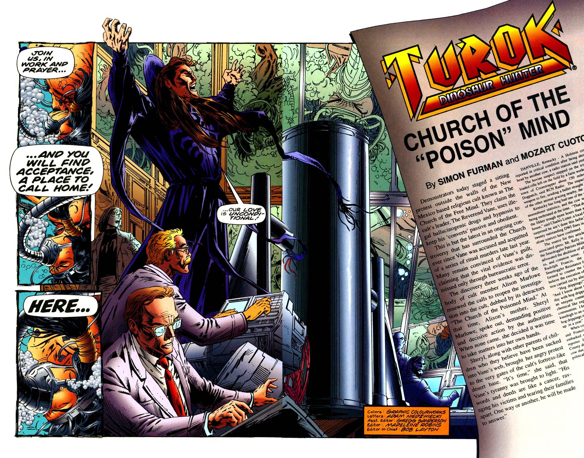 Read online Turok, Dinosaur Hunter (1993) comic -  Issue #42 - 3