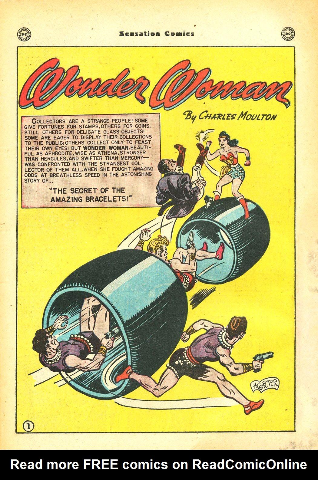 Read online Sensation (Mystery) Comics comic -  Issue #86 - 3