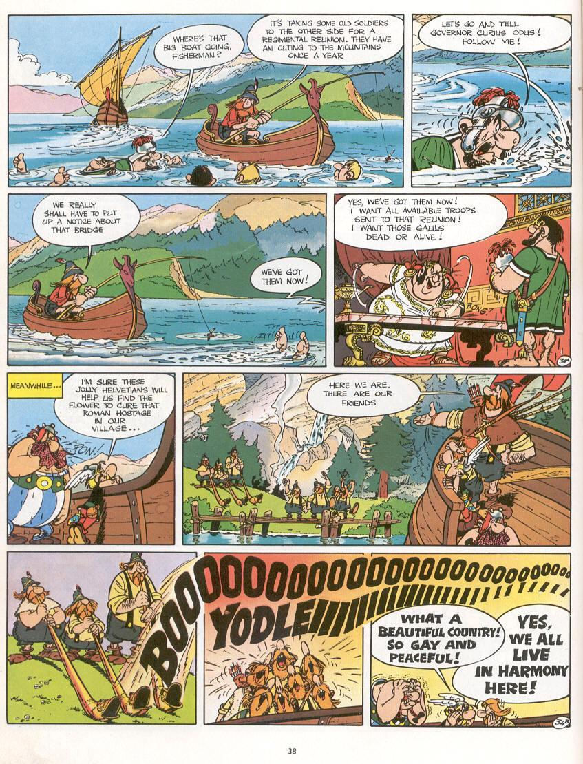 Read online Asterix comic -  Issue #16 - 35