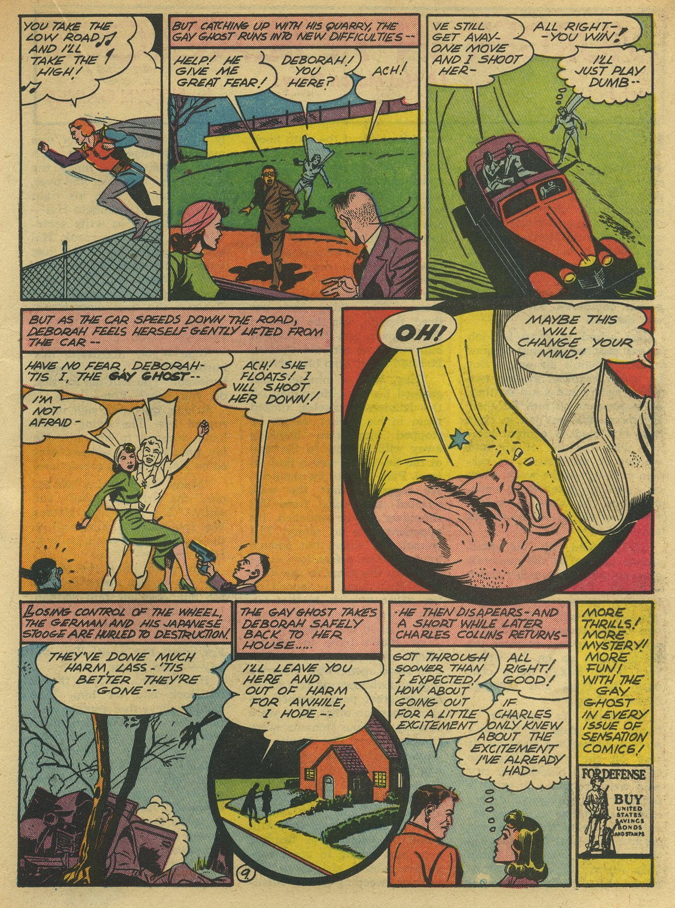 Read online Sensation (Mystery) Comics comic -  Issue #10 - 45