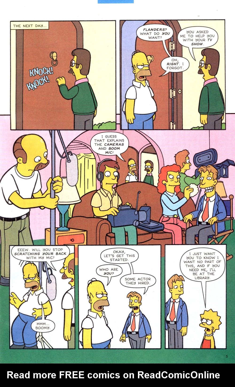 Read online Simpsons Comics comic -  Issue #82 - 6