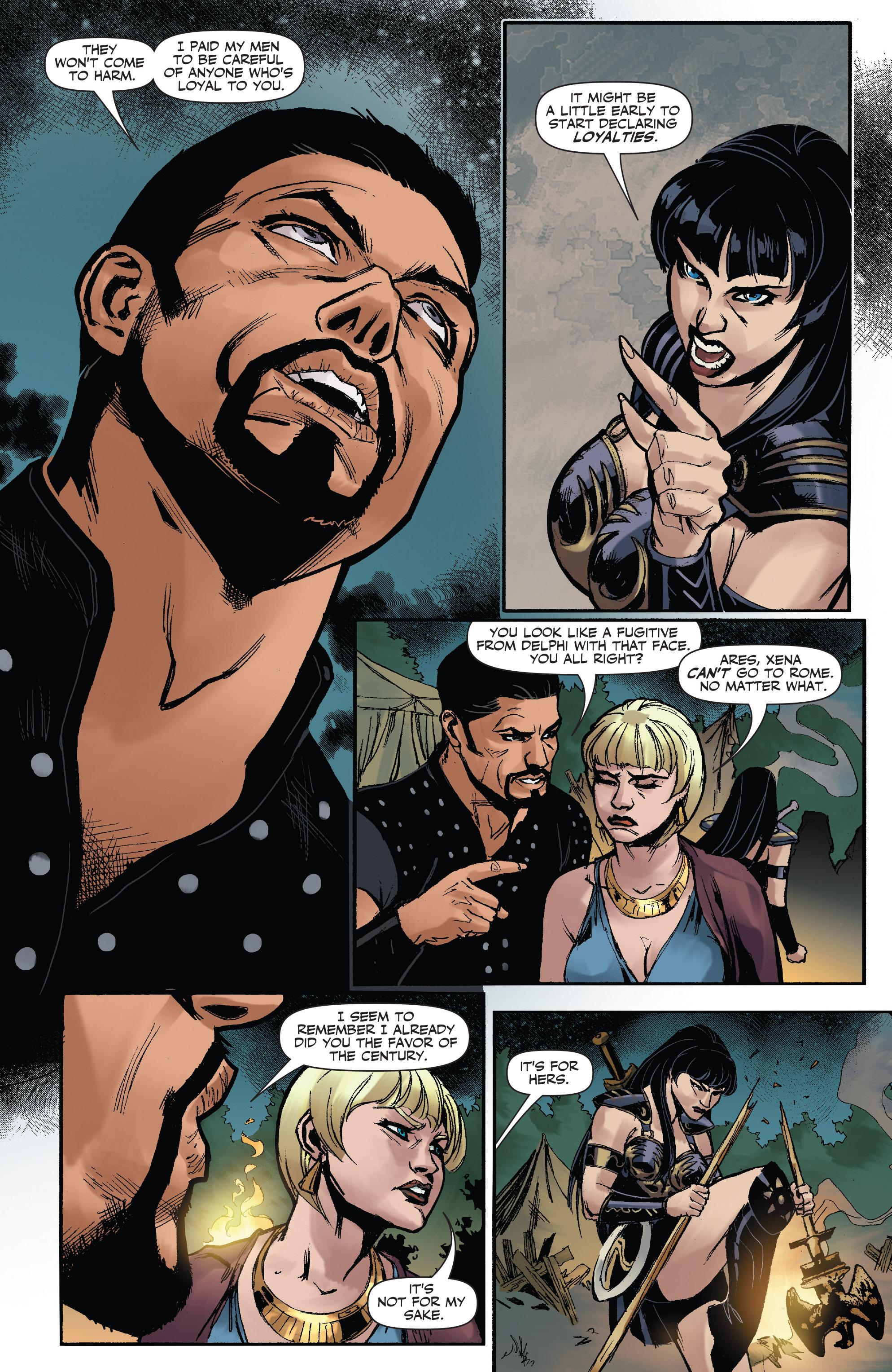 Read online Xena: Warrior Princess (2016) comic -  Issue #3 - 19