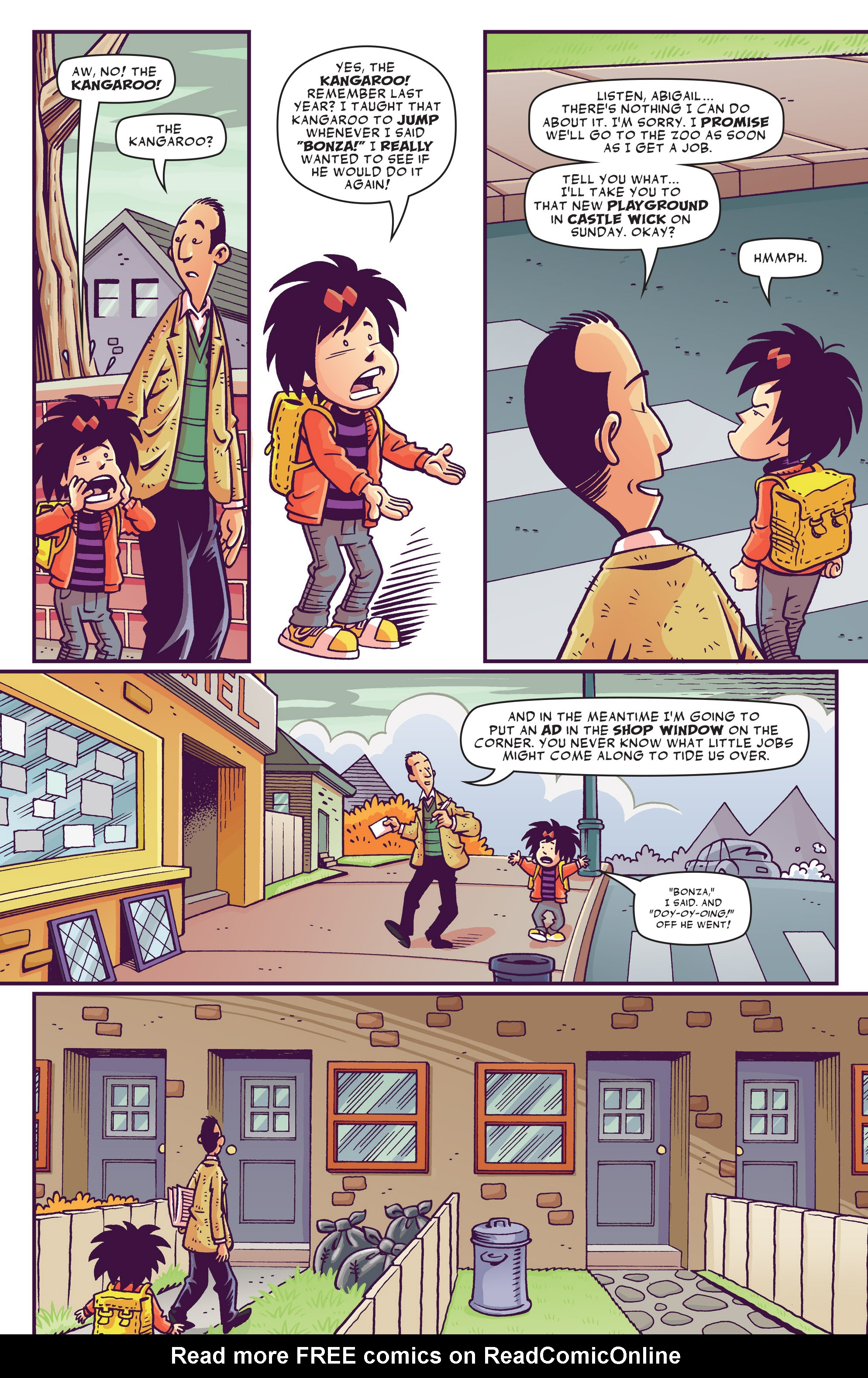 Read online Abigail And The Snowman comic -  Issue #1 - 9