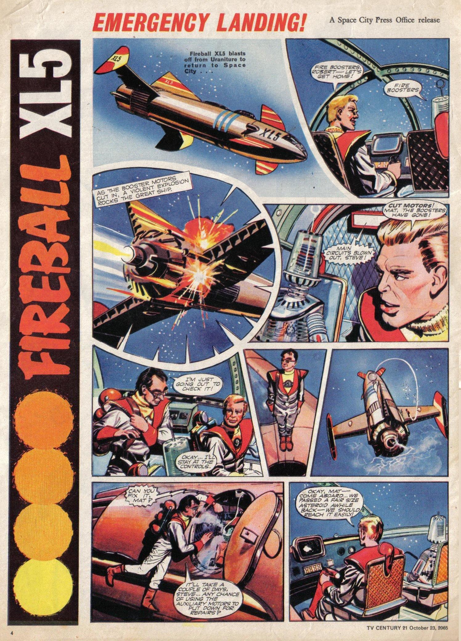 Read online TV Century 21 (TV 21) comic -  Issue #40 - 4