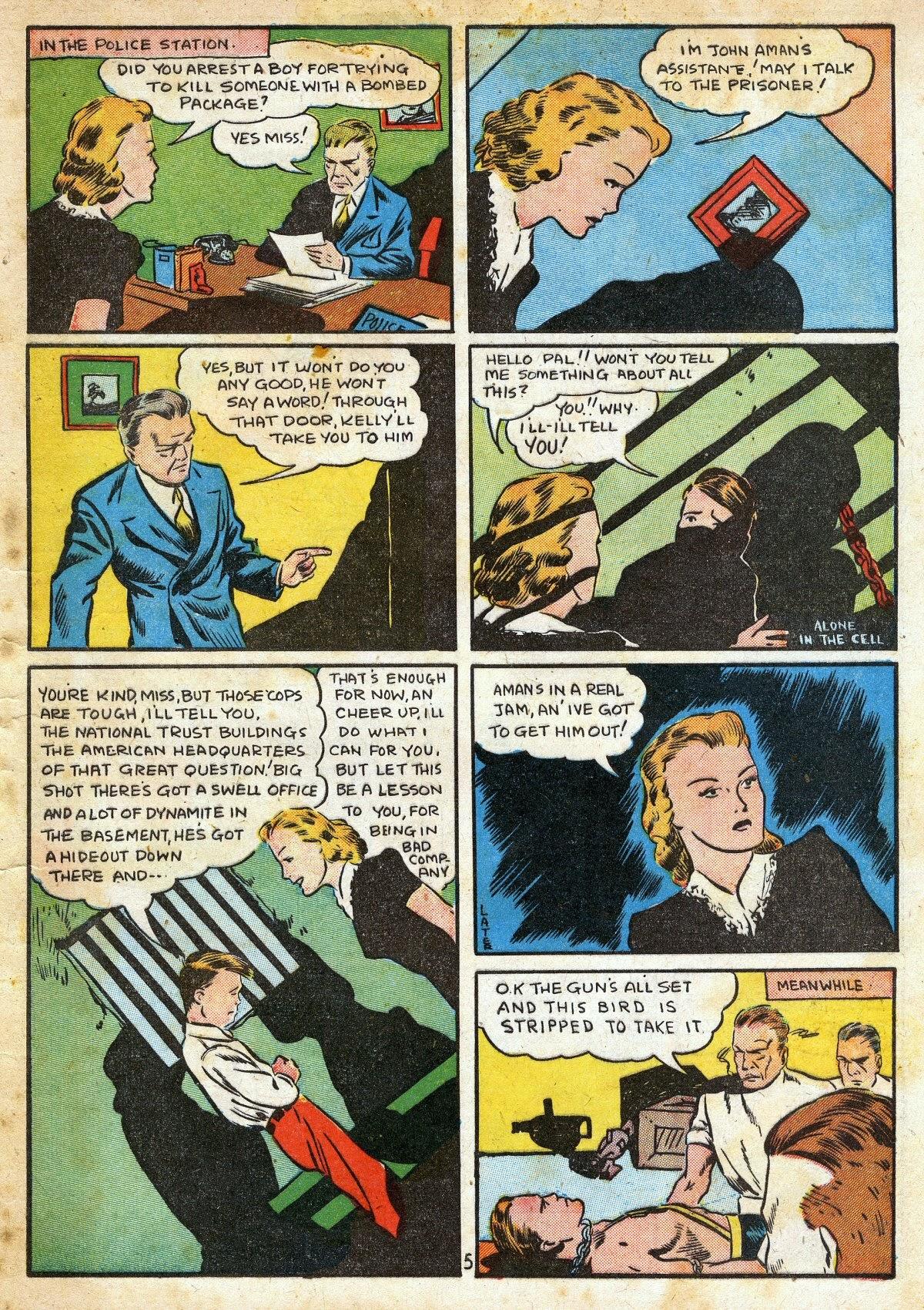 Read online Amazing Man Comics comic -  Issue #16 - 7