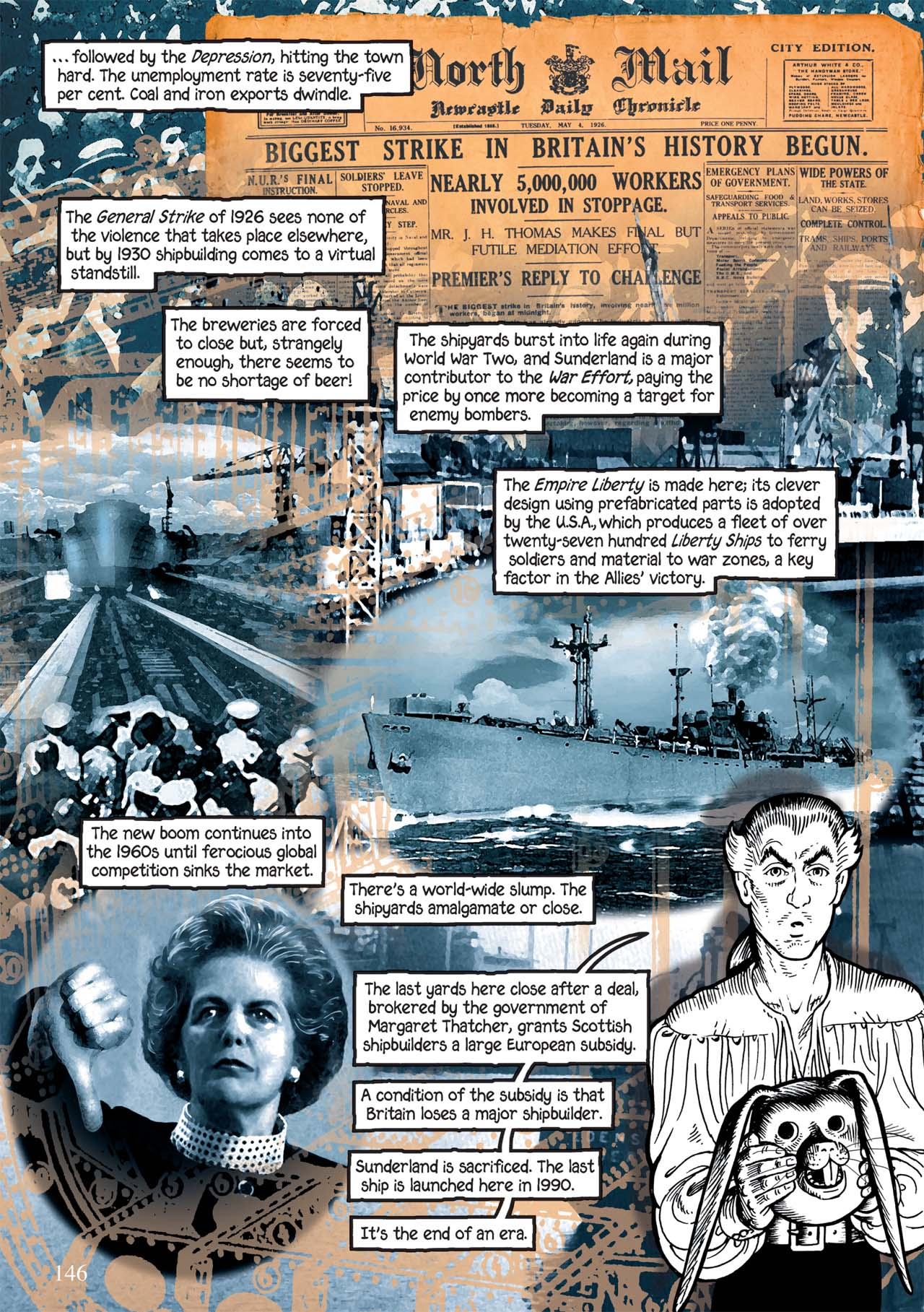 Read online Alice in Sunderland comic -  Issue # Full - 150