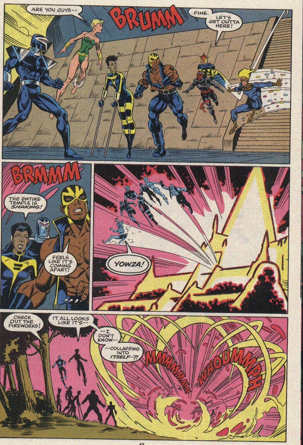 The New Warriors Issue #25 #29 - English 37