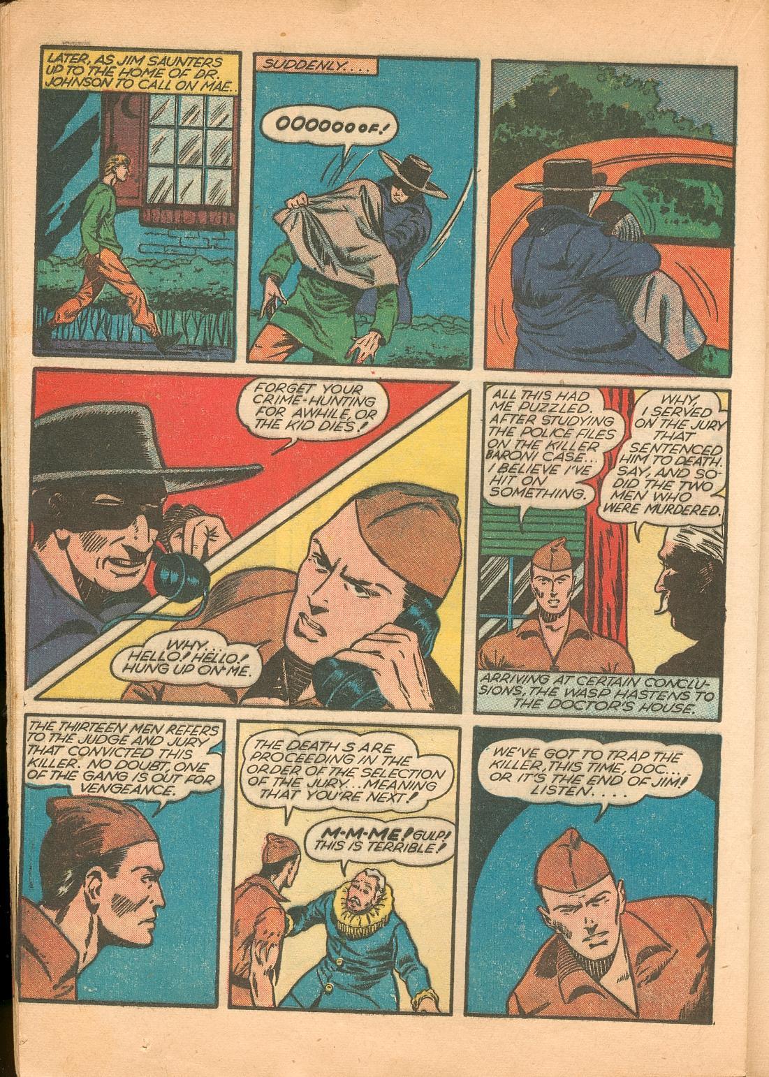 Read online Shadow Comics comic -  Issue #11 - 44