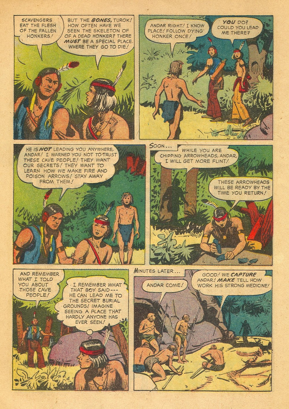 Read online Turok, Son of Stone comic -  Issue #23 - 24