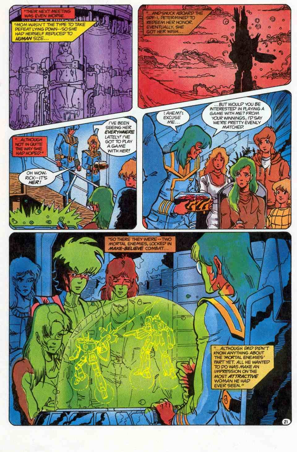 Robotech Special issue Full - Page 22