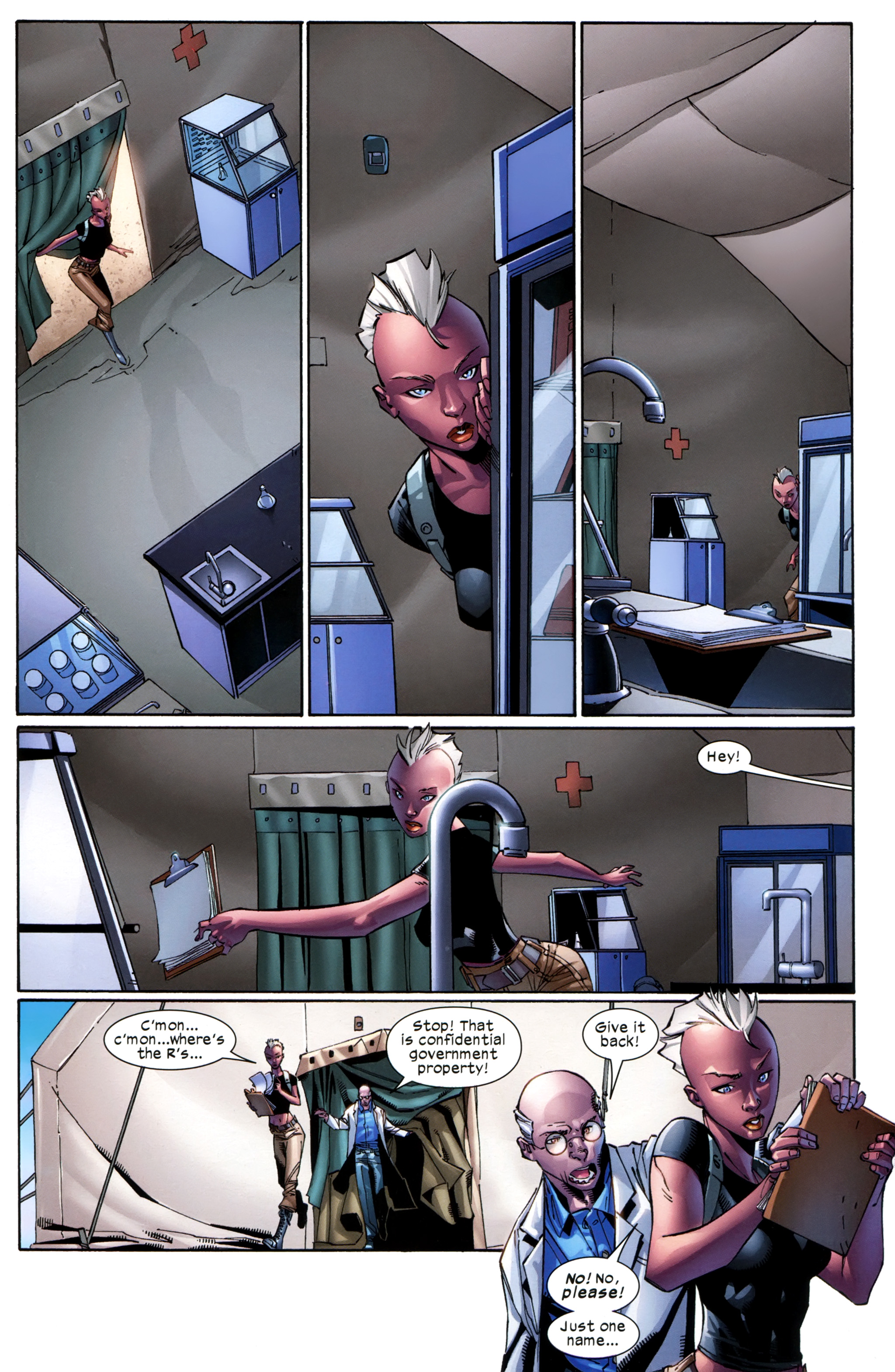 Read online Ultimate Comics X-Men comic -  Issue #23 - 19