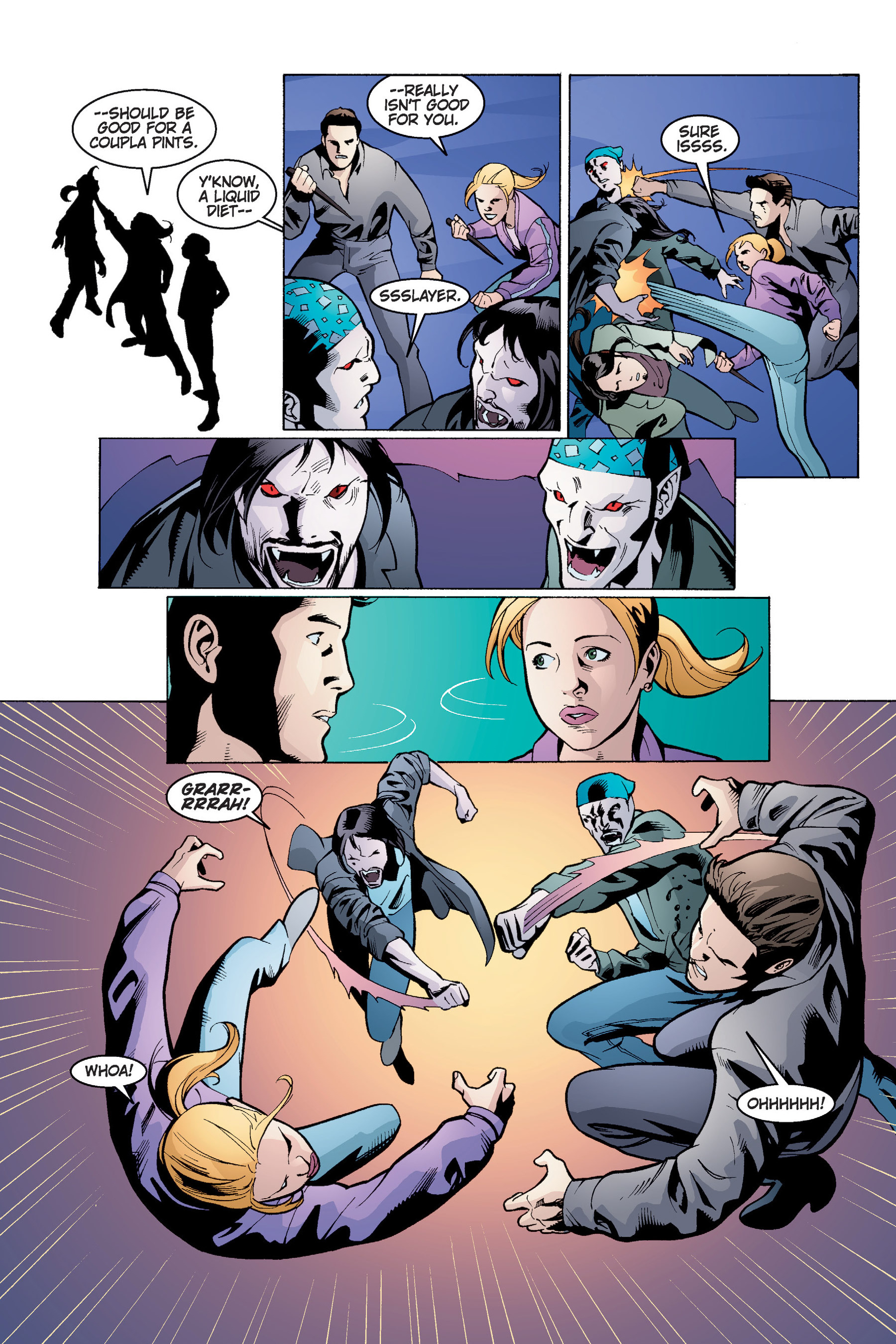 Read online Buffy the Vampire Slayer: Omnibus comic -  Issue # TPB 4 - 100