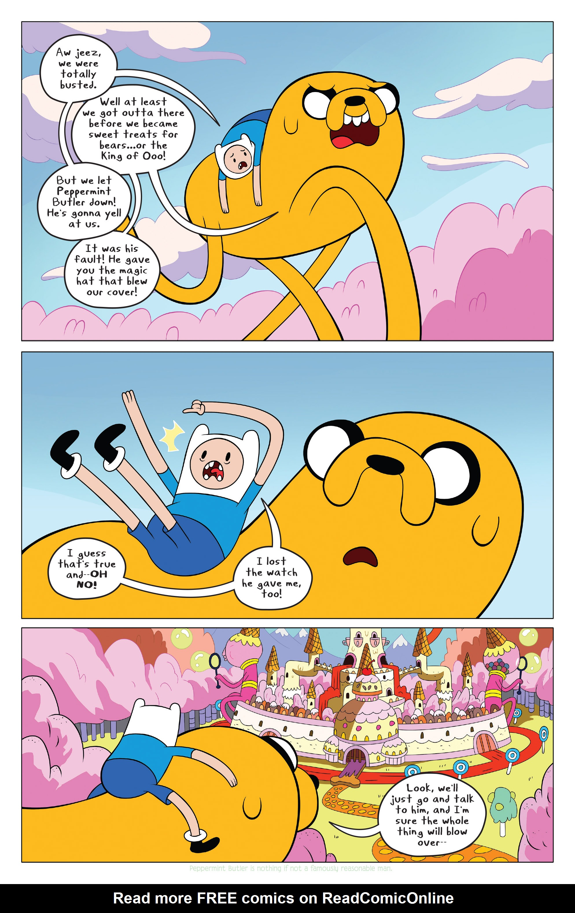 Read online Adventure Time comic -  Issue #42 - 16