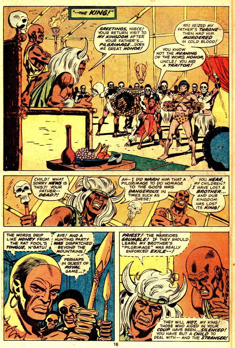 Read online Tarzan (1977) comic -  Issue # _Annual 2 - 14