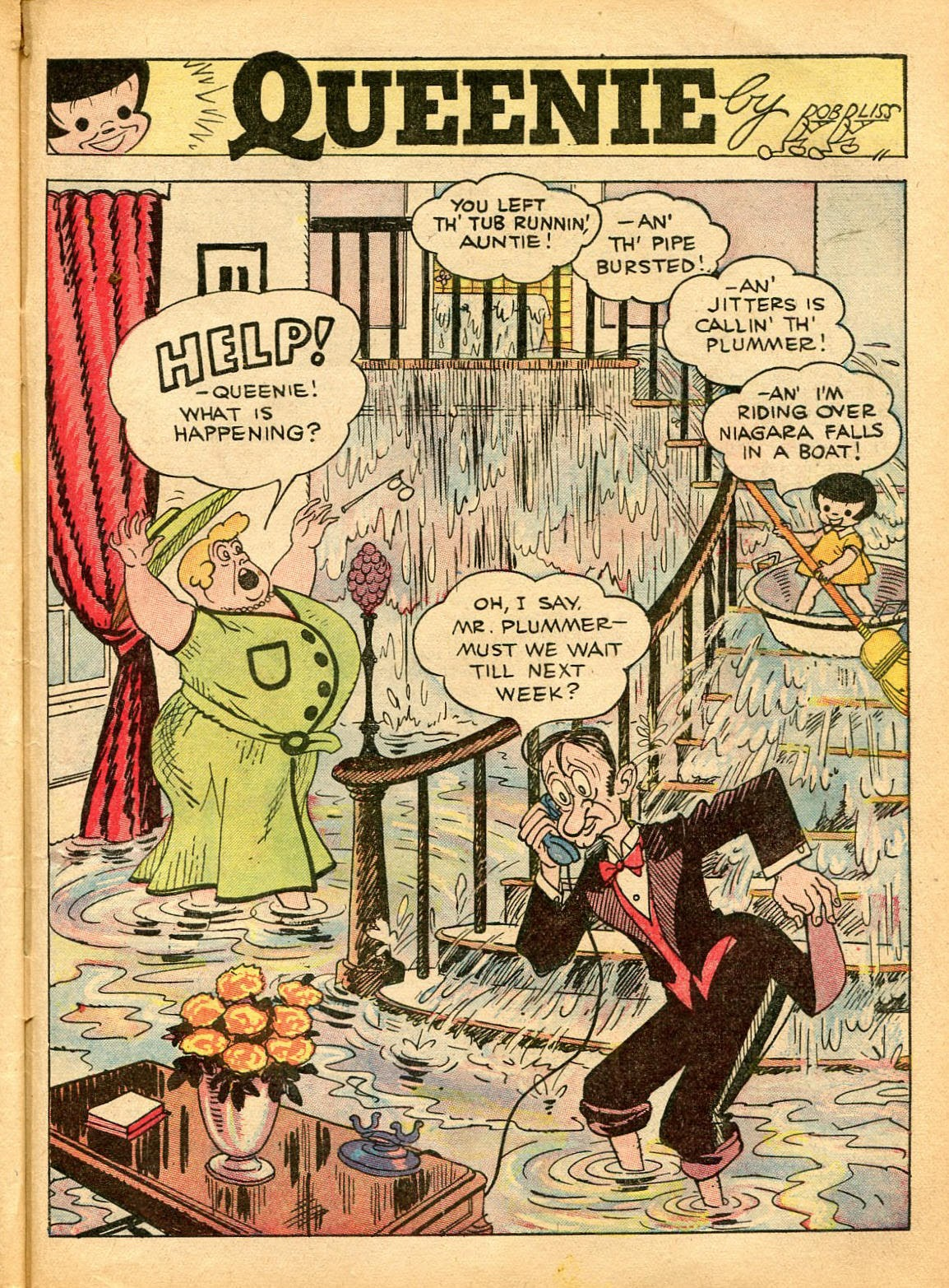 Read online Famous Funnies comic -  Issue #42 - 54