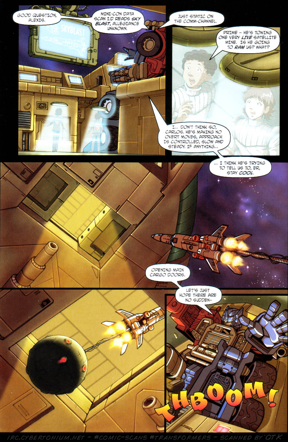 Read online Transformers Armada comic -  Issue #11 - 18