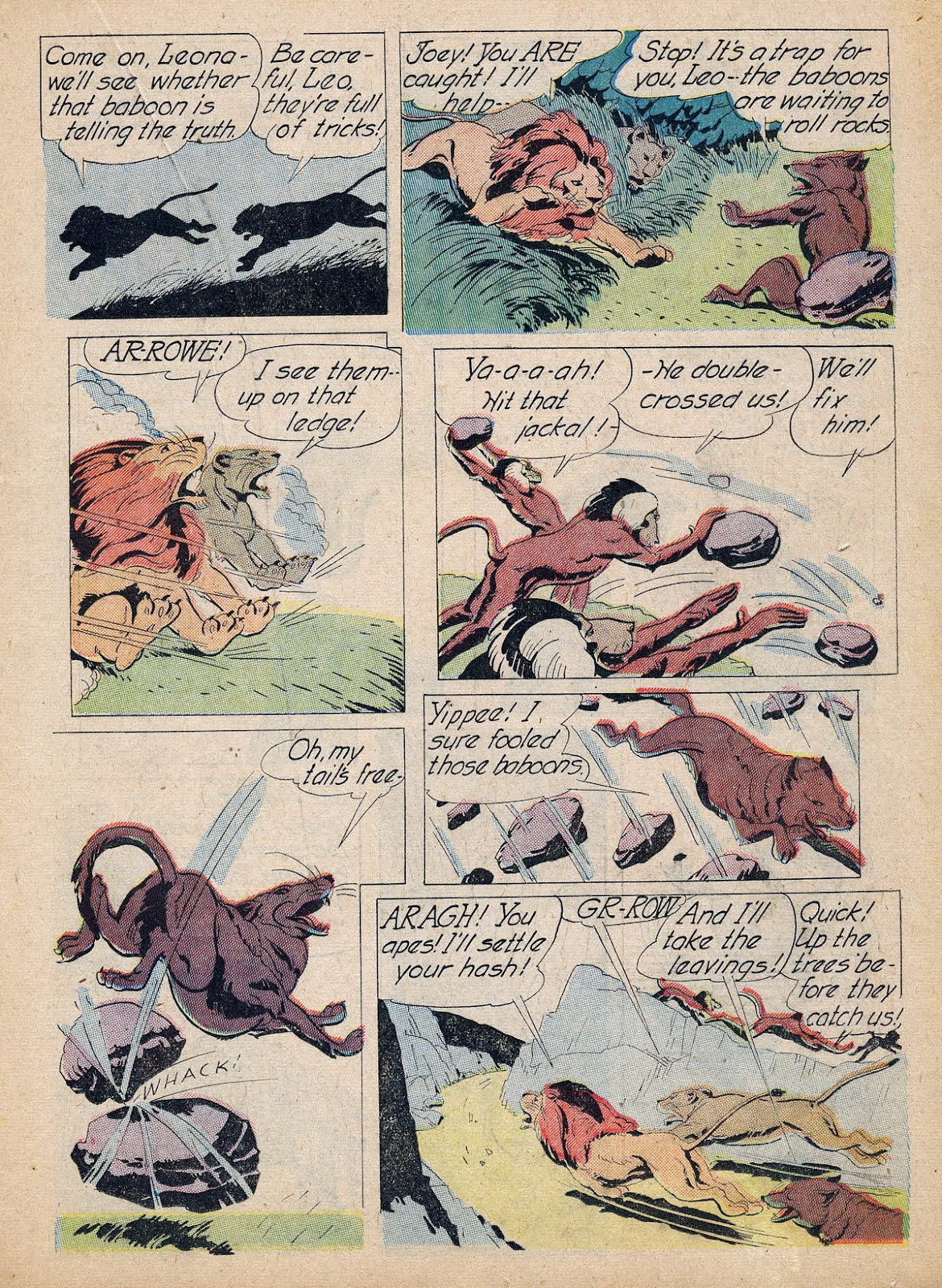 Read online Animal Comics comic -  Issue #7 - 35
