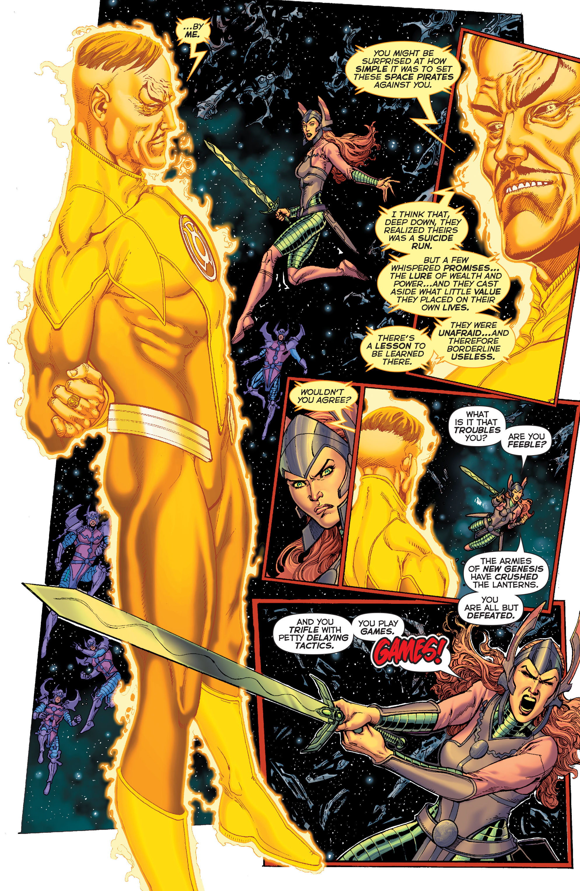 Read online Sinestro comic -  Issue #7 - 4