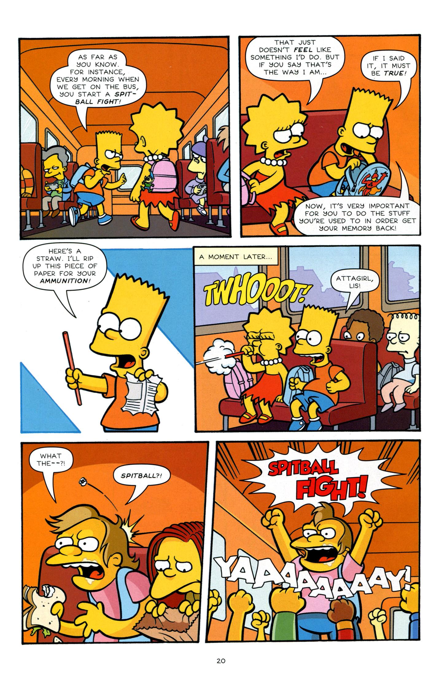 Read online Simpsons Comics Presents Bart Simpson comic -  Issue #66 - 22