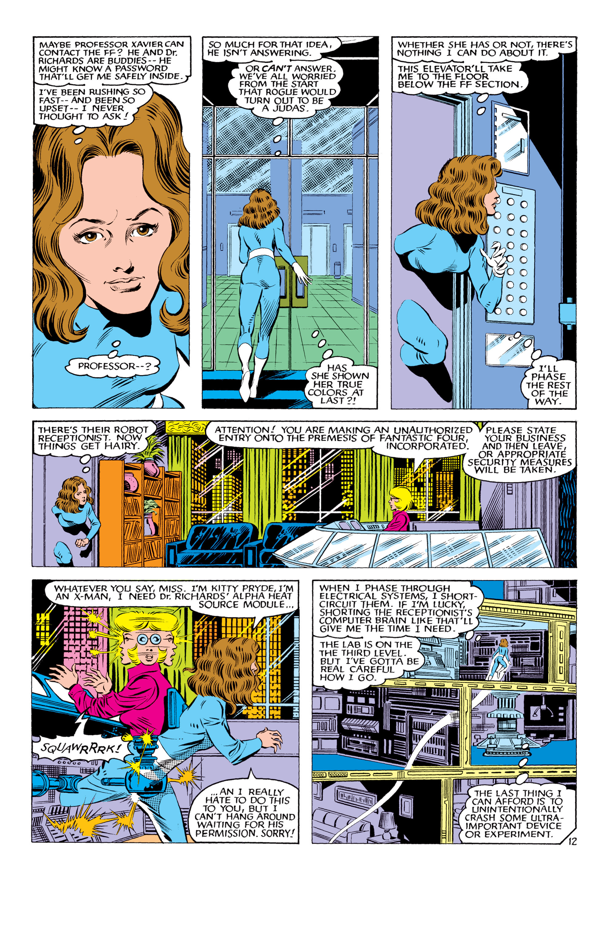 Read online Uncanny X-Men (1963) comic -  Issue #178 - 13