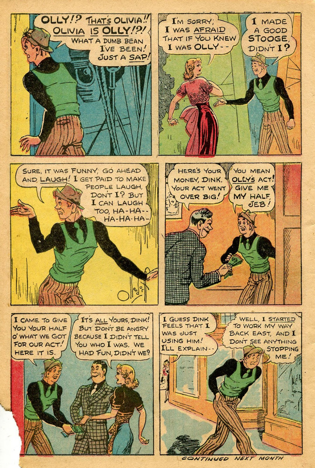 Read online Famous Funnies comic -  Issue #127 - 46