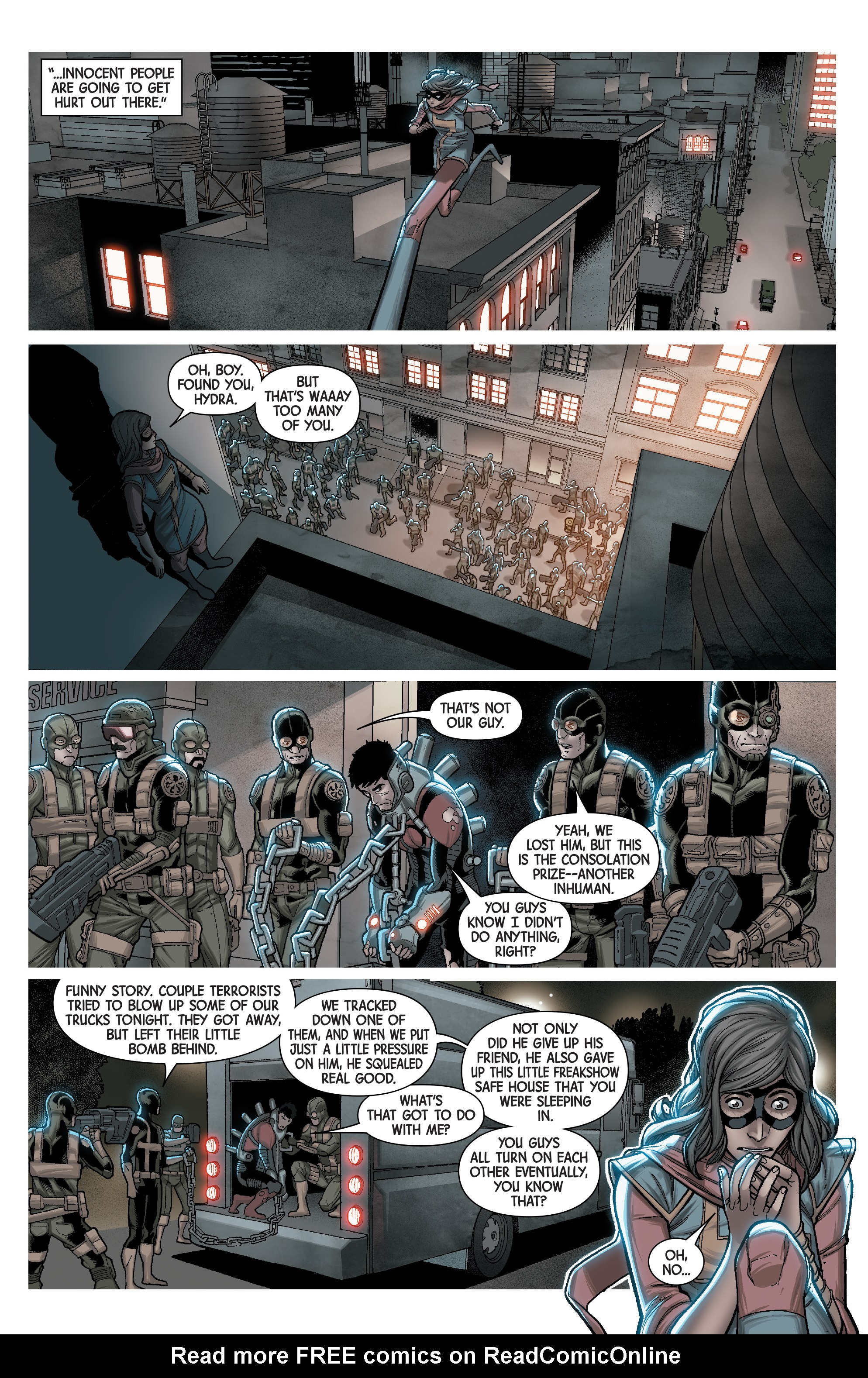 Read online Secret Warriors (2017) comic -  Issue #3 - 19