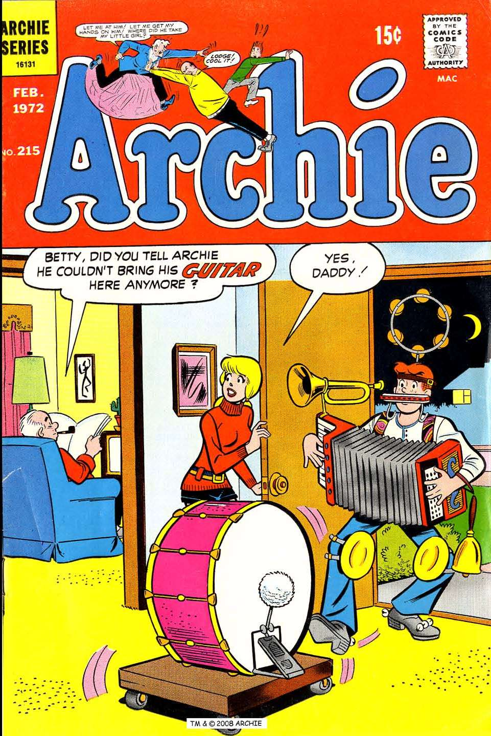 Read online Archie (1960) comic -  Issue #215 - 1