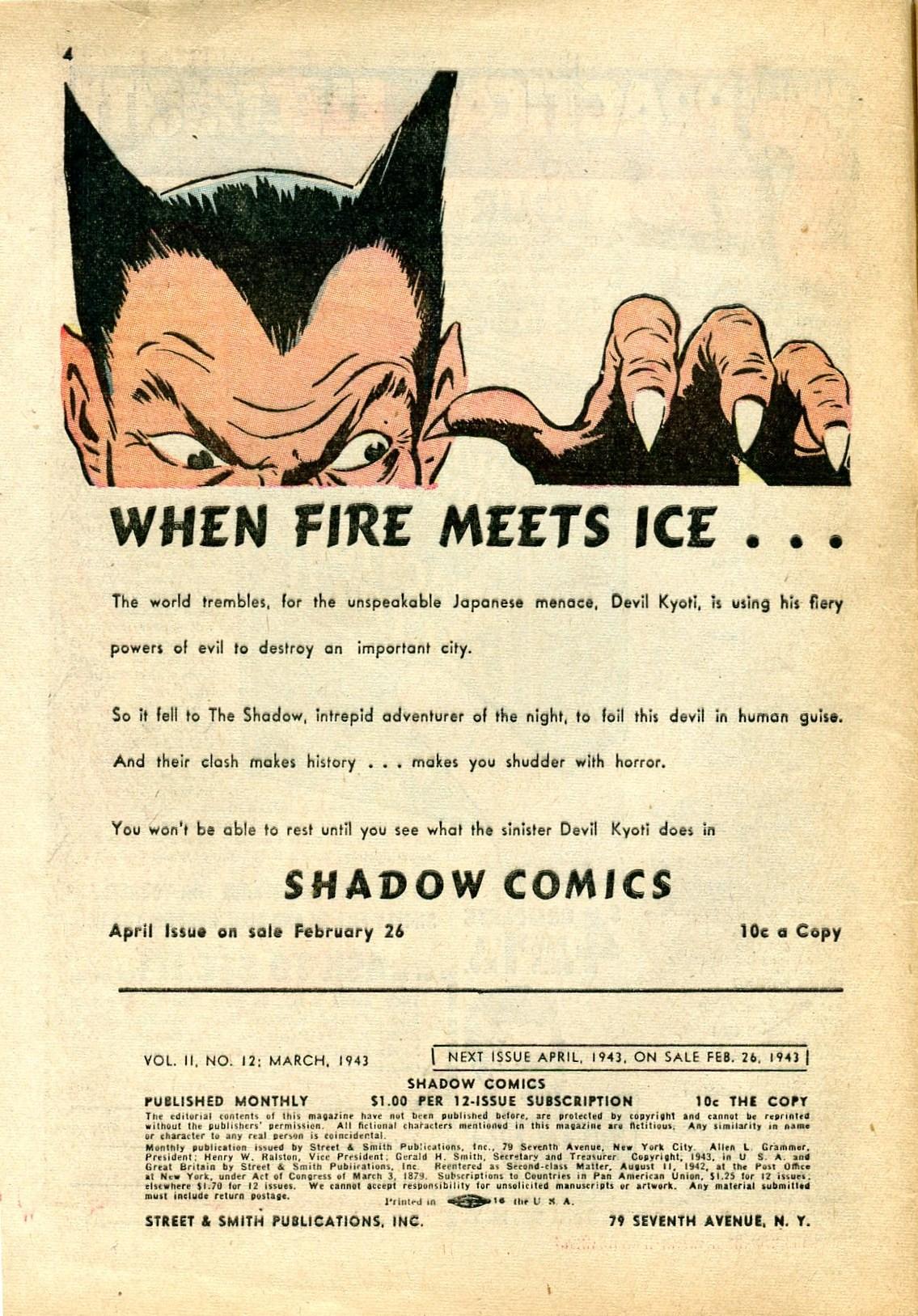 Read online Shadow Comics comic -  Issue #24 - 4
