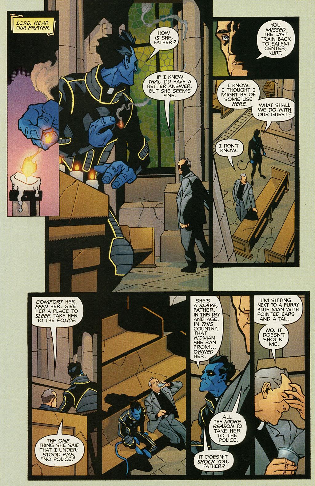 Read online Nightcrawler (2002) comic -  Issue #1 - 8